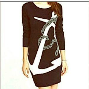 Express Dresses & Skirts - Express Anchor Sweater dress