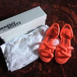 Jeremy Scott Shoes - Melissa + JEREMY SCOTT tube sandal