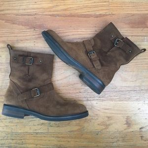 J. Crew Shoes - FINAL DROP! J. Crew Brown Suede Ankle Boot