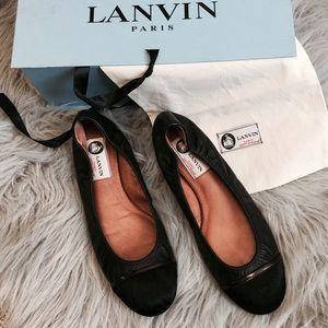 Lanvin Shoes - Lanvin captoe flats