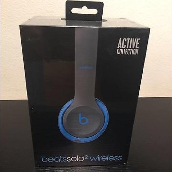 fac744913bf Other | Beats Solo2 Wireless Headphones Flash Bluenew | Poshmark