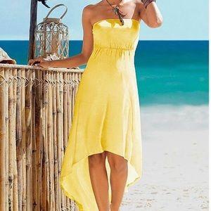 Venus Dresses & Skirts - Strapless High-Low Dress