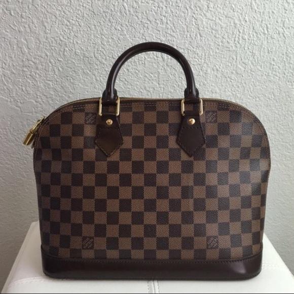 5f22f1b2fc8 Louis Vuitton Alma PM Damier Ebene