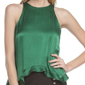 Line & Dot Tops - Price Drop Line & Dot Marion Ruffle Top NWT