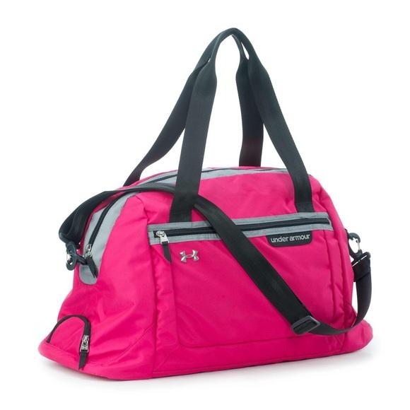 b0513292e346 Under Armour ENDURE Hot Pink Gym Duffle Bag. M 57d04e89fbf6f9e103006c5f