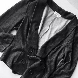 silence + noise • Cozy Gray Blazer Jacket