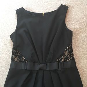Marina Rinaldi Dresses & Skirts - Gorgeous Lace Accent Bow Cocktail or Work Dress