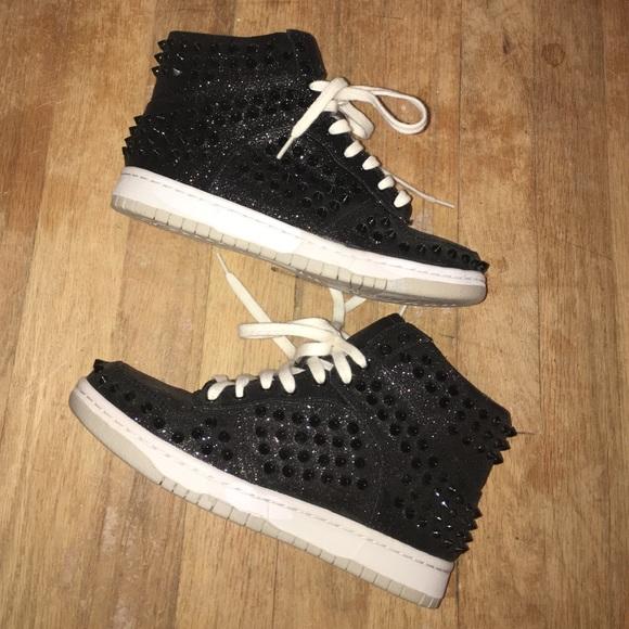 Steve Madden Studded Sneakers Black