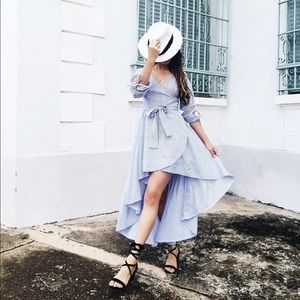 Tea n Cup Dresses & Skirts - HP Amari Wrap Dress