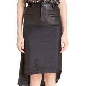 Haider Ackermann Dresses & Skirts - Haider Ackermann Leather Stretch Skirt