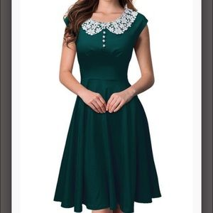 Dresses & Skirts - Green vintage dress