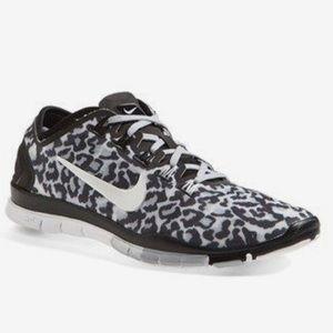 best website 35305 c204e Nike Shoes - Women s Nike Free Run Cheetah Print