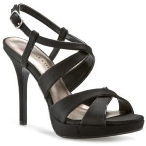 Kelly & Katie Shoes - Black Platform Heels by Kelly and Katie Juliette