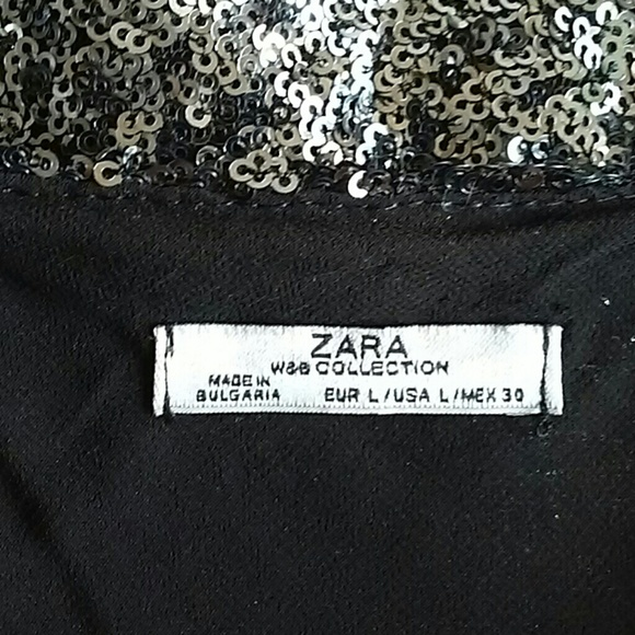 50 off zara dresses skirts zara silver sequin mini from leapintofas - Mini berceau zara home ...