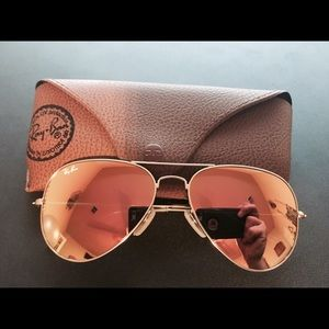 Ray-Ban Accessories - 🌴SPRING BREAK SALE🌴NWT Pink Ray-Ban Aviators