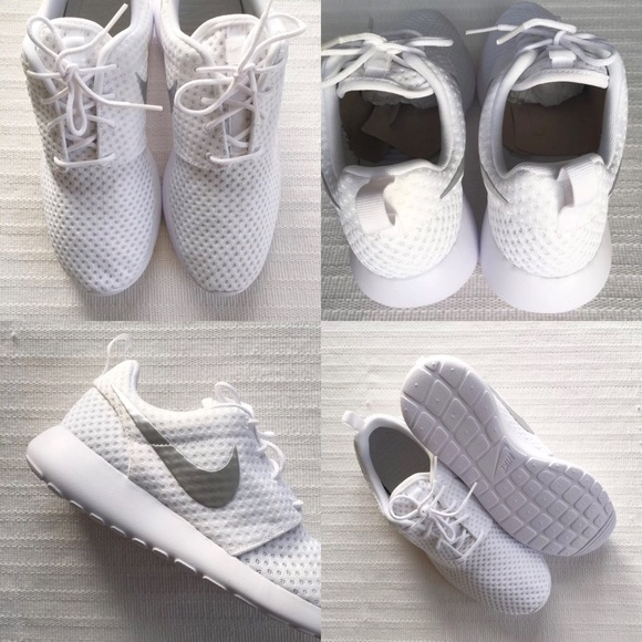 Mujeres Nike Roshe Uno Zapatos Casuales Blanco yBPgDKFC8