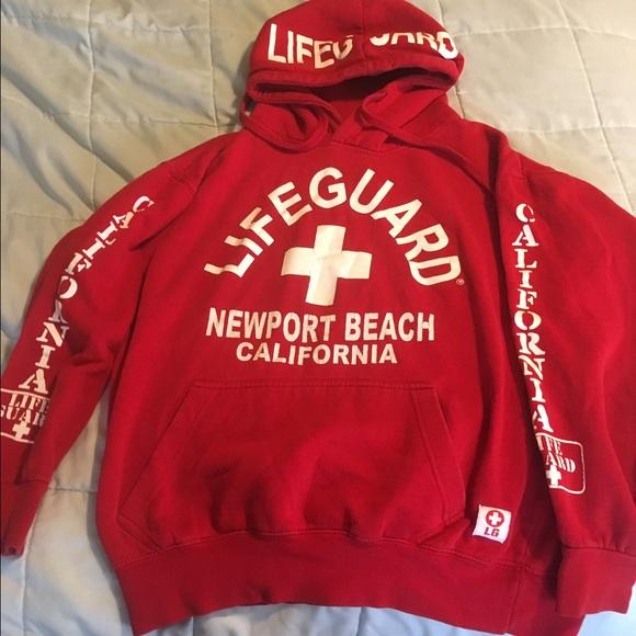 956f1eee171e Tops - Lifeguard hoodie