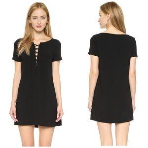 Elizabeth and James Dresses & Skirts - Elizabeth & James Lace Up Crepe Dress