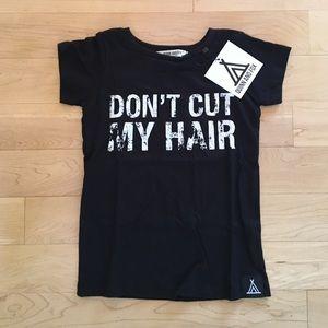 """Kids """"Don't cut my Hair"""" Quinn and Fox tshirt"""
