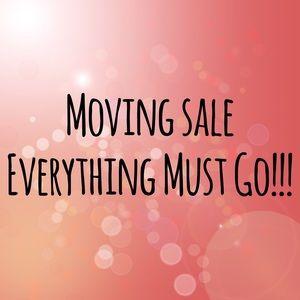 Closet Moving Sale !!!
