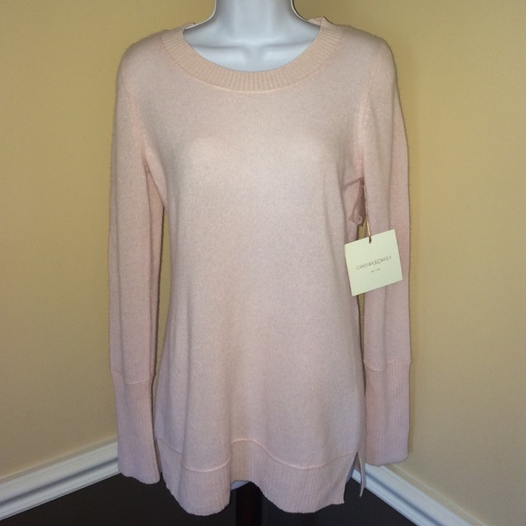 6d8833ed47c7e3 Cynthia Rowley Sweaters | 2ply Cashmere Tunic Sweater S | Poshmark
