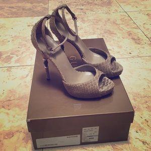 Gucci Soft Snakeskin Stiletto Heels in Orig Box!