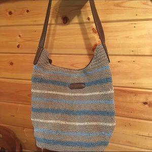 Jaclyn Smith Handbags - 👜💙 Jaclyn Smith Crochet Woven Shoulder Bag