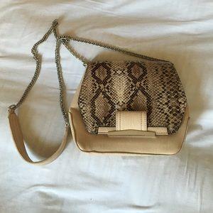 Danielle Nicole Handbags - Python printed cross body purse