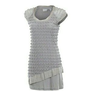 Miilla Clothing Dresses & Skirts - Nwt! Textured Gray Dress