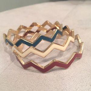 Anthropologie Jewelry - Set of 3 Anthropologie Bracelets.