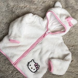 Hello Kitty Other - Hello Kitty Jacket w Cat Ears and Bow