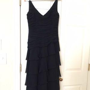 KAY UNGER-New York black formal gown