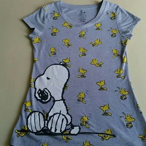 Scarpa Tops - Cute Snoopy & Woodstock
