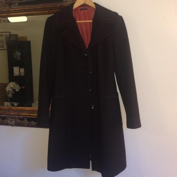 Sisley wool blend winter coat. M 57d090047f0a0579d202b676 2121bcb7c