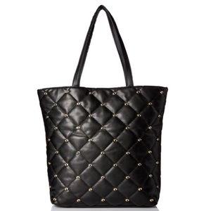 Deux Lux Handbags - Deux Lux Studded-Eye Tote.
