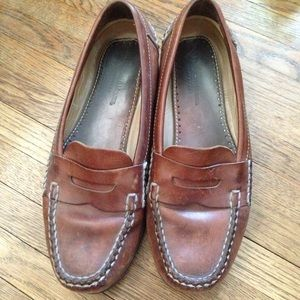 Johnston & Murphy Other - Final price Brown leather loafers!