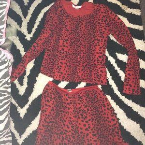 Victoria's Secret Other - Victoria's Secret red leaopard pajamas