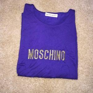Moschino Tops - Moschino Loose Tee
