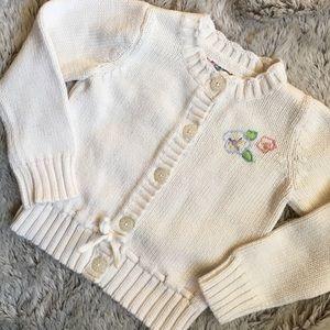 Osh Kosh Other - Cream Button Down Sweater