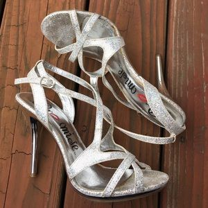Shoes - Glitter Heels Size 9