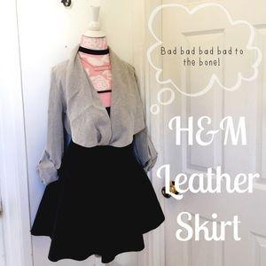 H&M Dresses & Skirts - 🎈 H&M Leather skirt 6