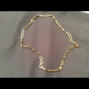 """Jewelry - Gold Chainlink Necklace GOLD (two-tone) 17""""  ⚱"""