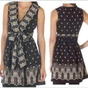Anna Sui Dresses & Skirts - Anna Sui for Target black wrap silk dress