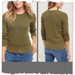 Tommy Bahama Olive Green Ardmore Sweater