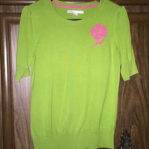Hello, Spring!! Lime Green sweater!