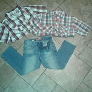 Other - Boys outfit size 6 Arizona skinny jeans