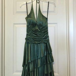 XOXO Dresses & Skirts - [XOXO] Green Halter Dress