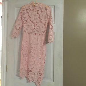 Lilac Shade Dresses & Skirts - Light pink cocktail dress