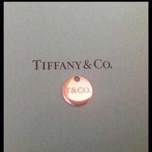Tiffany & Co. Jewelry - Tiffany & Co. Pink Enamel Pendant