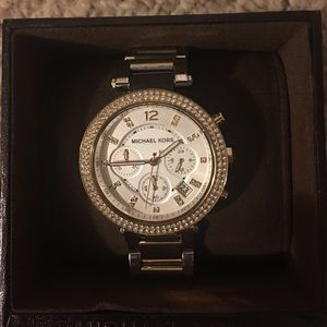 Michael Kors two-tone watch